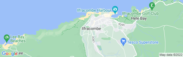 Map Of Ilfracombe