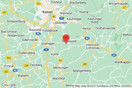 Karte Söhrewald