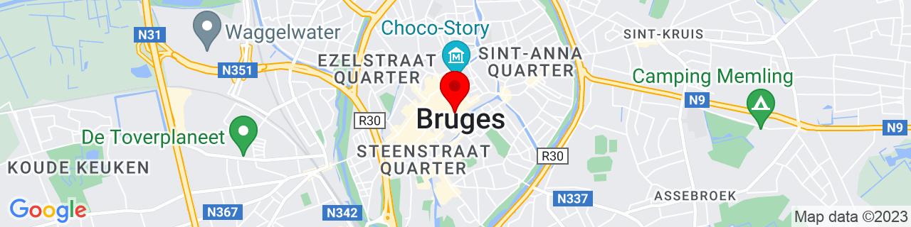 Google Map of 51.2082905, 3.2261497