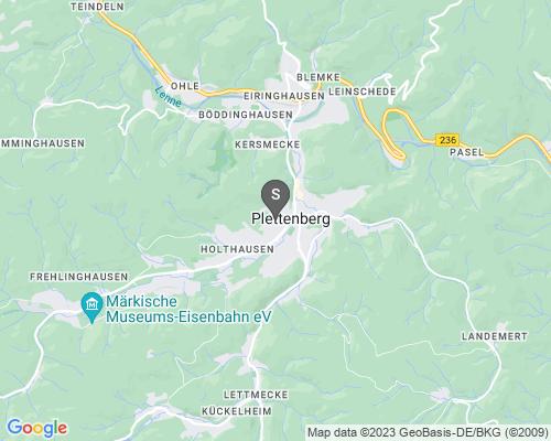 Google Karte von Schlüsseldienst Plettenberg