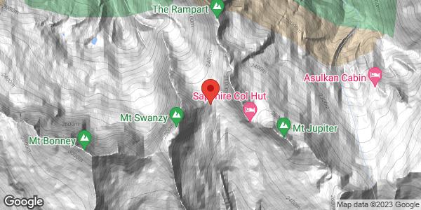 Lily Glacier/Mt Swanzy