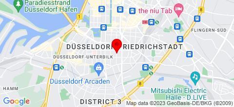 Google Map für Appartementhaus Rödig