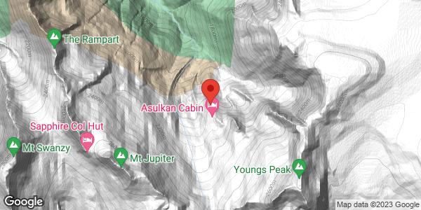 Asulkan Hut and Tree Triangle