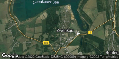 Google Map of Zwenkau