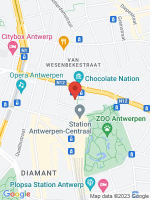 Koningin Astridplein - perron 7, 2000 Antwerp