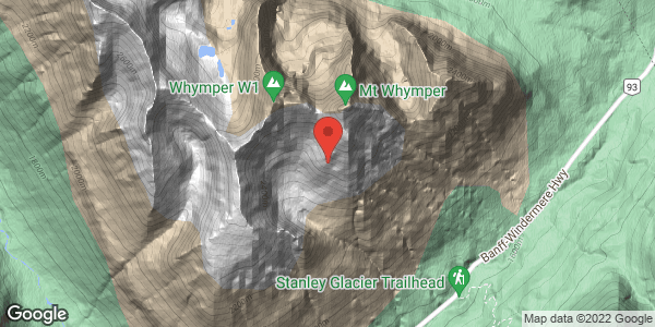 Avalanche control on Mt Whymper, Feb 9, 2021