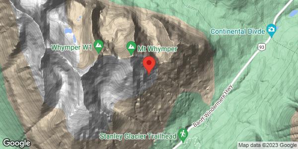 Mt Whymper SE face