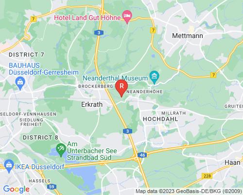 Google Karte von Rohrreinigung Erkrath