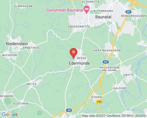 Google Karte von Rohrreinigung Edermünde