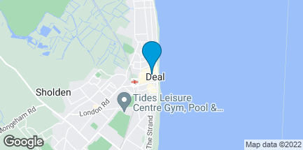 Map of 62 High Street in Deal