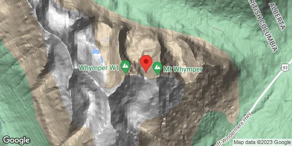 Mount Whymper North Glacier