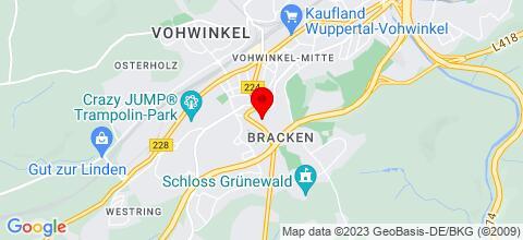 Google Map für Monteurs Unterkunft bei Düsseldorf
