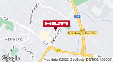 Get directions to Hilti Store Mönchengladbach