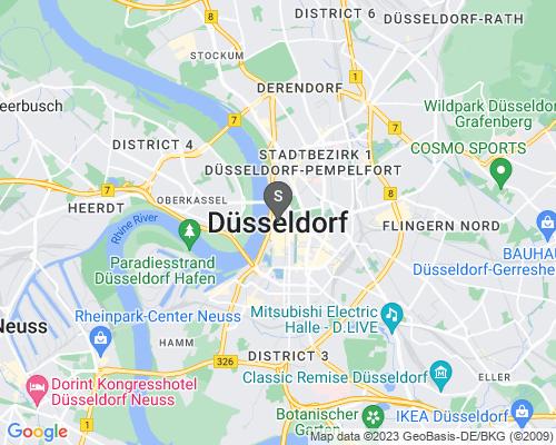 Google Karte von Schlüsseldienst Düsseldorf