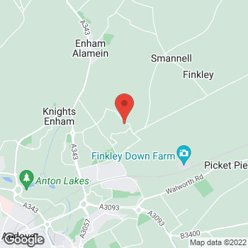 Map of The Co-operative Food Andover, East Anton Farm Road at Unit 1, East Anton Farm Road, Andover, Hampshire SP11 6RD