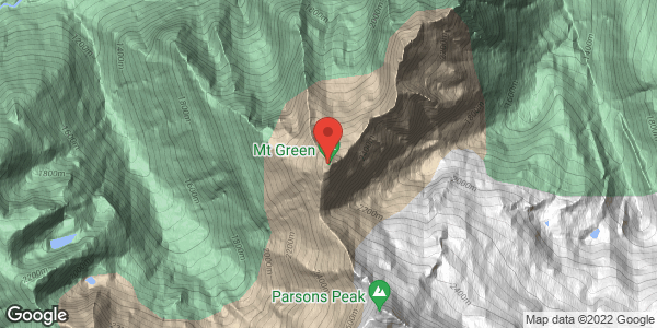 Mt Green, Ross Path
