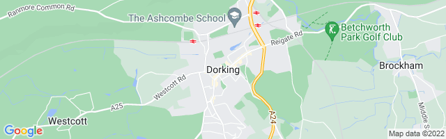 Map Of Dorking