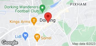 Halfords Dorking location
