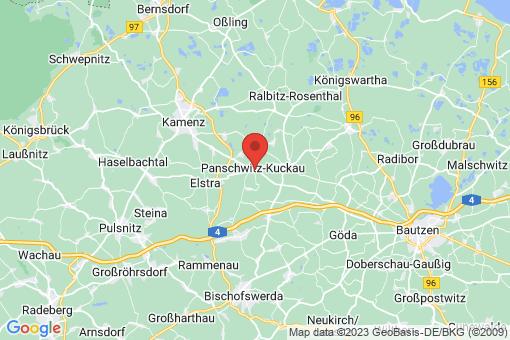 Karte Panschwitz-Kuckau