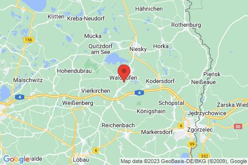 Karte Waldhufen
