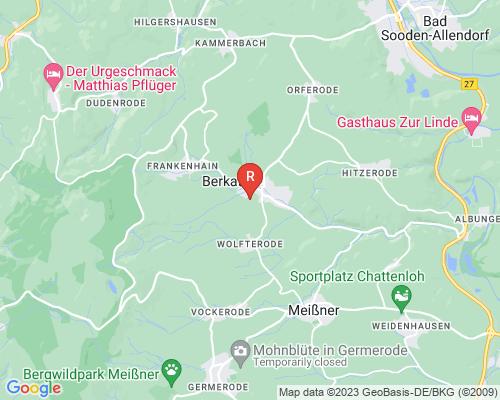 Google Karte von Rohrreinigung Berkatal