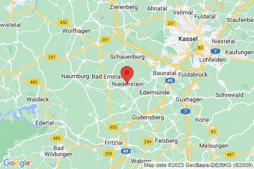 Karte Niedenstein