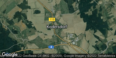 Google Map of Kodersdorf