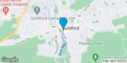 Map of 46 High Street in Guildford