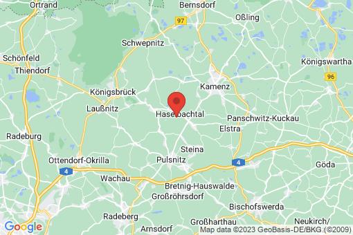 Karte Haselbachtal
