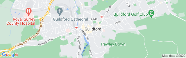 Map Of Guildford
