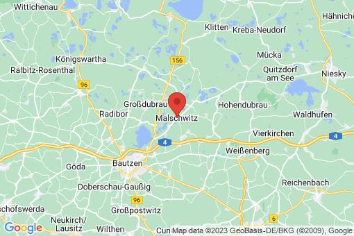 Karte Malschwitz