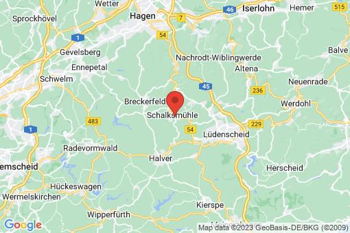 Karte Schalksmühle