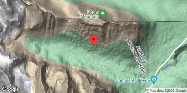 Chickadee Valley avalanche slope 3