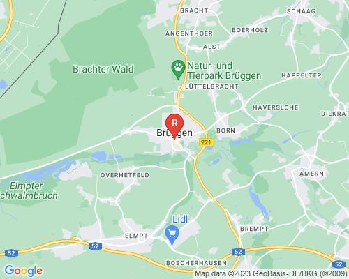 Google Karte von Rohrreinigung Brüggen