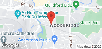 B&Q Mini Warehouse Guildford location