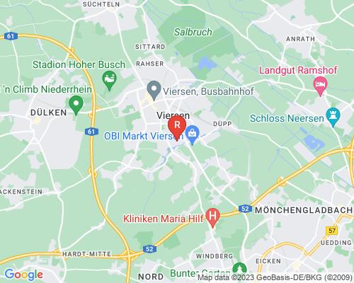 Google Karte von Rohrreinigung Viersen