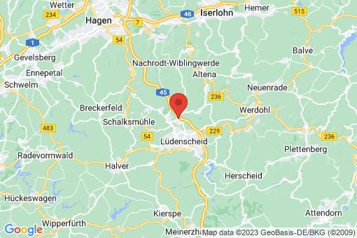 Karte Lüdenscheid