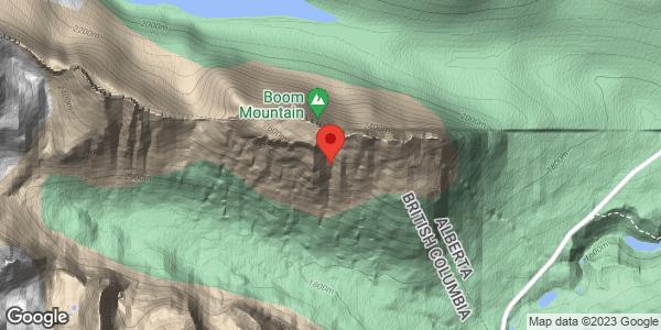 Chickadee Valley south slope
