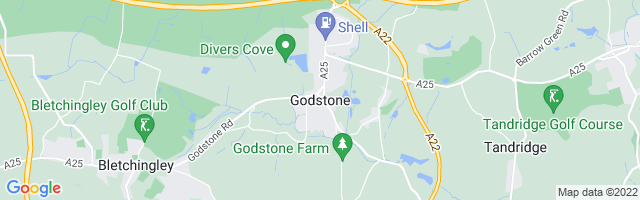 Map Of Godstone