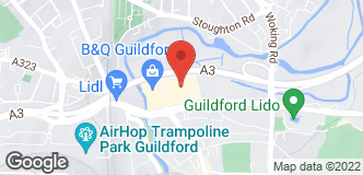 Halfords Guildford location