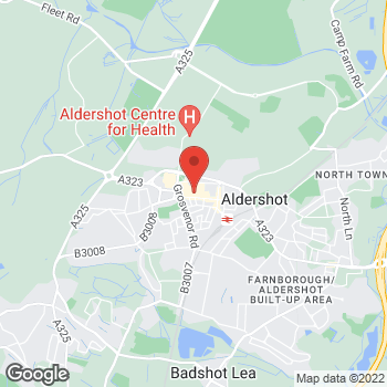 Map of wilko Aldershot at Unit Msu1 Low Walk, Aldershot,  GU11 1DB