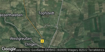 Google Map of Topfstedt