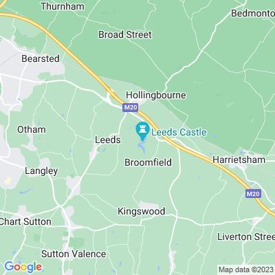 Leeds Castle Location