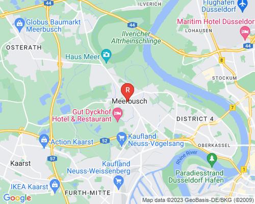 Google Karte von Rohrreinigung Meerbusch
