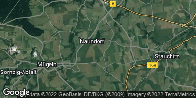 Google Map of Naundorf bei Oschatz