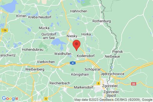 Karte Neißeaue