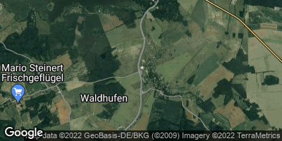 Google Map of Waldhufen