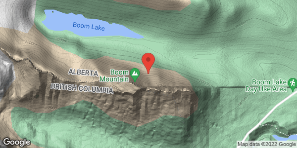 Avalanche boom lake