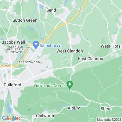 Clandon Park Location