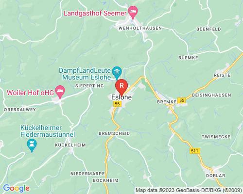 Google Karte von Rohrreinigung Eslohe